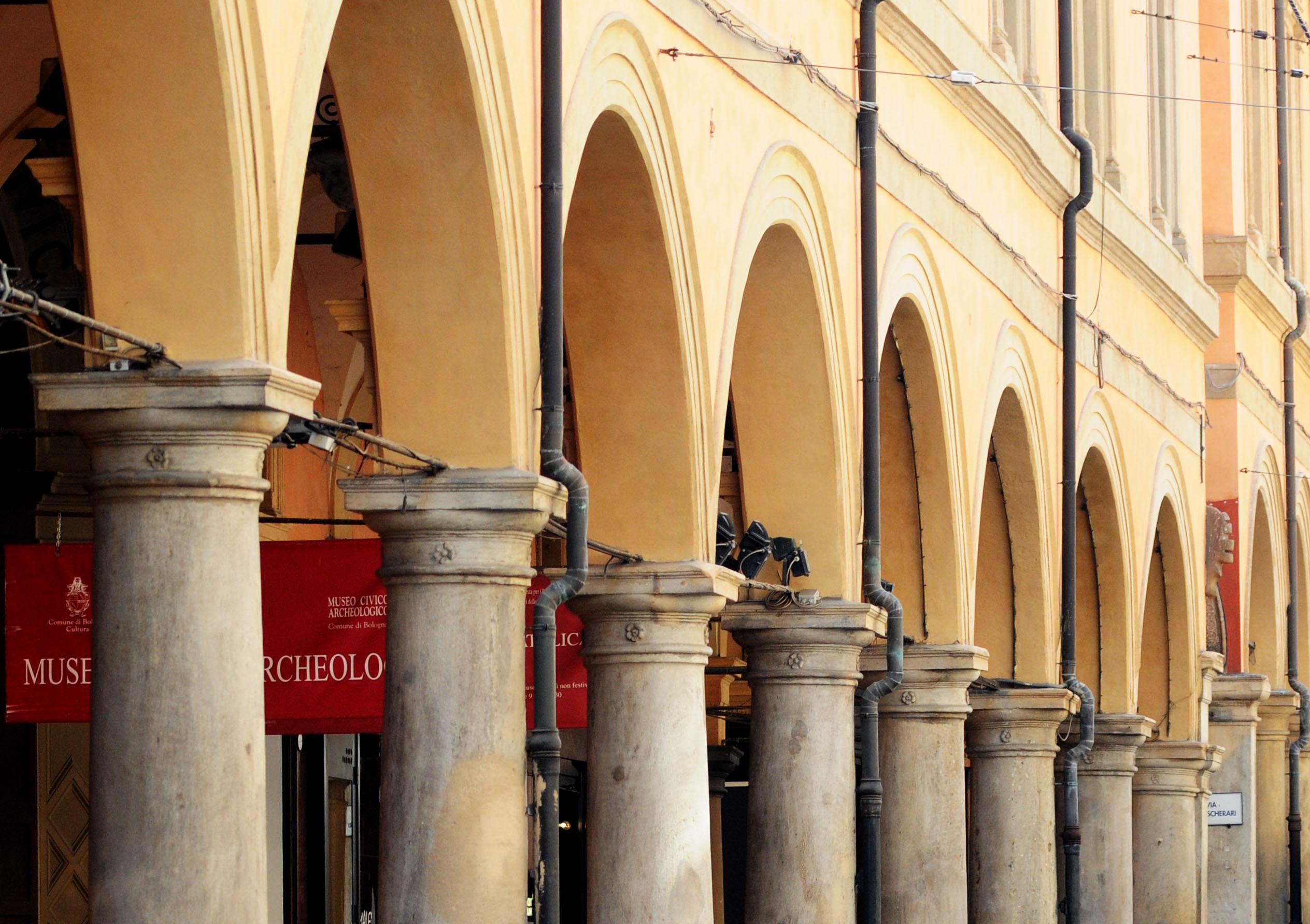 pavaglione bologna centro portici